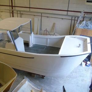 stepped hull design